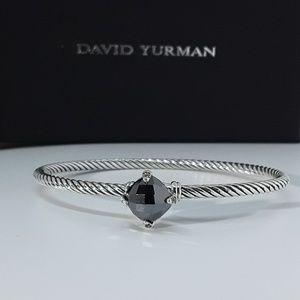 DAVID YURMAN CHATELAINE BRACELET BLACK ONYX